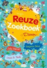 Benjamin  Bécue, Julie  Mercier, Prisca le Tandé Mijn reuze zoekboek Dieren