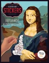 , Kleuren met stickers - Beroemde kunstwerken