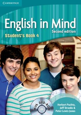 Puchta, Herbert,   Stranks, Jeff,   Lewis-Jones, Peter,English in Mind Level 4 Student`s Book with DVD-ROM