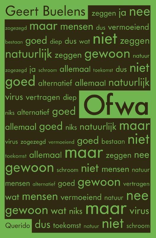 Geert Buelens,Ofwa