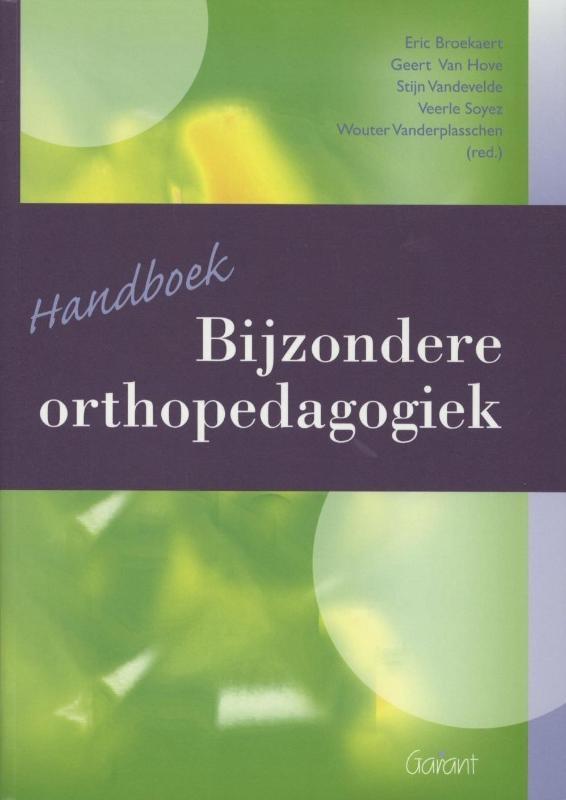 E. Broekaert,Handboek bijzondere orthopedagogiek