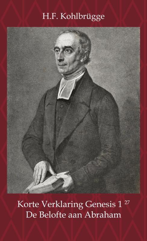 H.F. Kohlbrügge,Korte Verklaring van Genesis 1, vers 27
