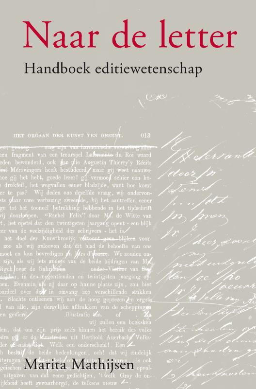 M. Mathijsen,Naar de letter