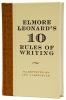 Leonard, Elmore,Elmore Leonard's 10 Rules of Writing