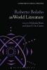 Birns, Nicholas,Roberto Bolano as World Literature
