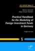 Schmidt, Kathrin,Practical Handbook for the Marketing of Foreign Investment Funds in Germany