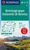 ,Dolomiti di Brenta, Brentagruppe 1 : 25 000