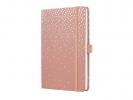 ,notitieboek Sigel Jolie Beauty A5 hardcover gelinieerd      `pearly magic`