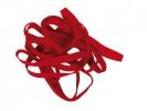 ,elastieken Alco 130x10mm 500 gram in doos rood