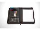 ,<b>kunstlederen schrijfmap Pacor Pamero La Trobe A5 zwart met  rits</b>