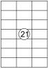 ,Etiket Quantore 70X42.4mm 315stuks