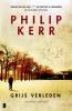 Philip Kerr,Grijs verleden