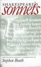 Booth, Stephen Shakespeare`s Sonnets