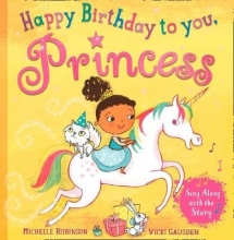 Michelle Robinson Happy Birthday to you, Princess