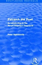 Peter (Oxford University) Hainsworth Petrarch the Poet