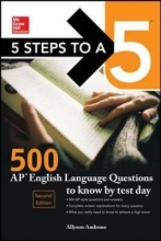 Ambrose, Allyson McGraw-Hill 5 Steps to A 5 500 AP English Language Questions to Know by Test Day