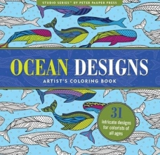 Ocean Designs Adult Coloring Book
