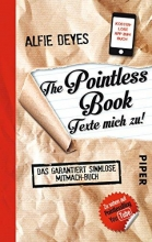 Deyes, Alfie The Pointless Book - Texte mich zu!
