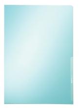 , Insteekmap L-map Leitz premium A4 PVC blauw