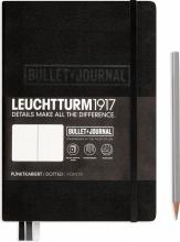 Lt363573 , Leuchtturm bulletjournal 145x210 ed 2021 zwart 206 blz