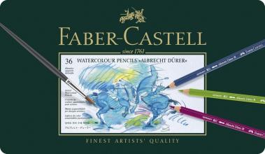 , aquarelpotlood Faber-Castell Albrecht Dürer etui à 36 stuks