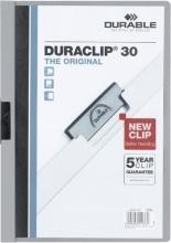 , Klemmap Durable 2200 A4 3mm grijs