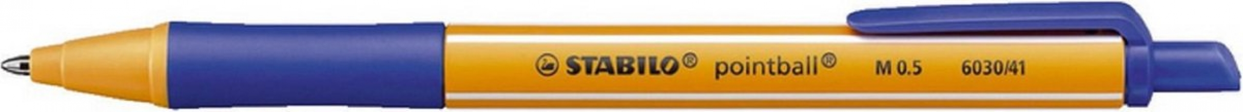 , Balpen STABILO Pointball 6030/41 blauw