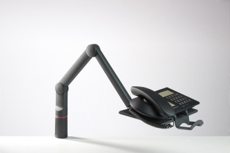 , Telefoonarm Novus talkmaster antraciet