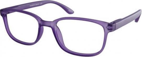 , Leesbril +3.00 regenboog lila
