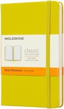 , Moleskine Notebook Pocket Ruled Hard Cover Dandelion Yellow