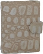 Pm212ic10 , Succes omslag mini ivory croco 15 mm ring