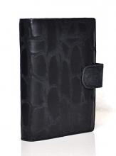 Pm212oo02 , Succes omslag mini croco zwart 15 mm