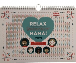 , Familieplanner 2021  relax mama