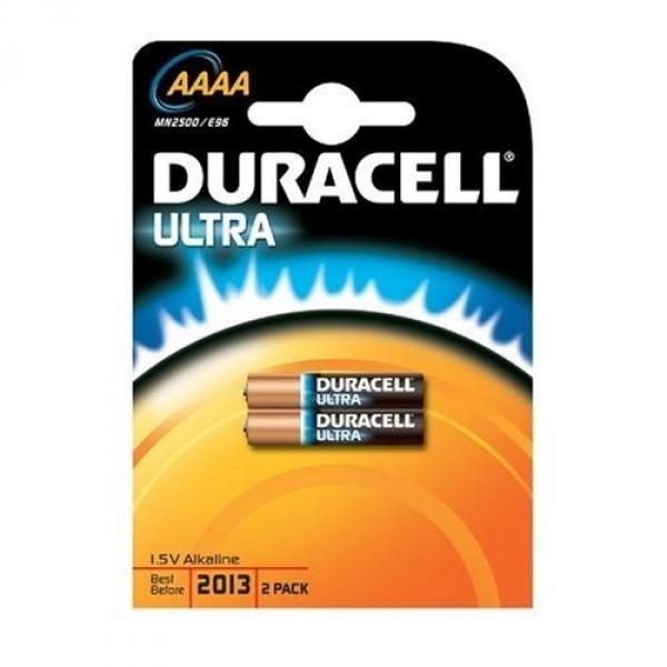 ,Batterij Duracell 2xAAAA Ultra alkaline