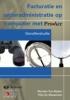 , Proacc - Facturatie en Orderadministratie Op Computer Met Proacc (+ Cd-rom)
