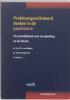 <b>A. van Balkom, D. Hengeveld</b>,Probleemgeoriënteerd denken in de psychiatrie