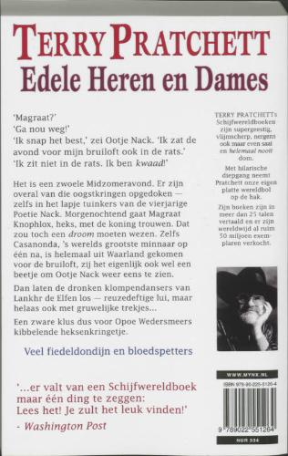 Terry Pratchett,Edele heren en dames