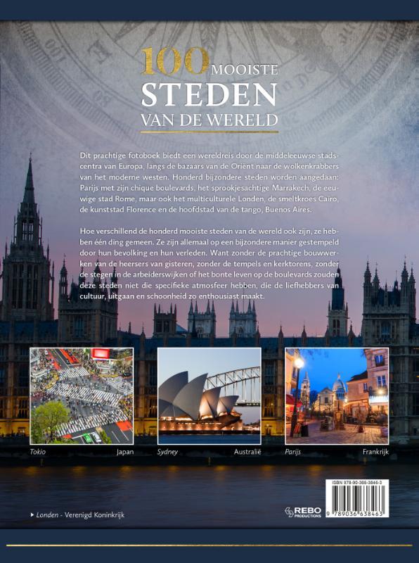 Winfried Maass, Anne Benthues, Hans-Joachim Neubert, Elizabeth Haas,100 mooiste steden van de wereld