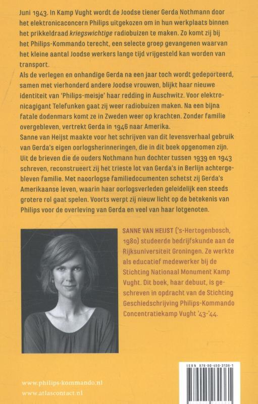 Sanne van Heijst,Philips-meisje van kamp Vught