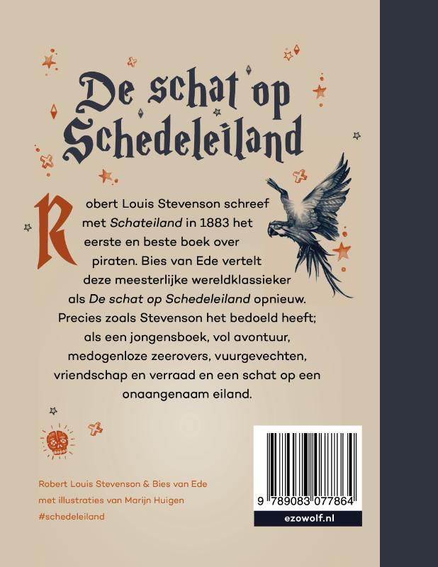 Bies van Ede, Robert Louis Stevenson,De schat op Schedeleiland (Schateiland)