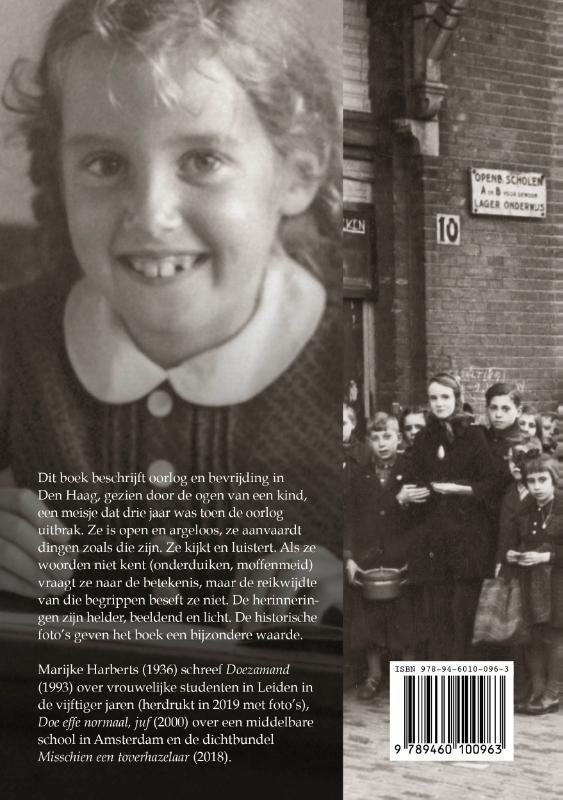 Marijke Harberts,Oorlog en bevrijding in Den Haag