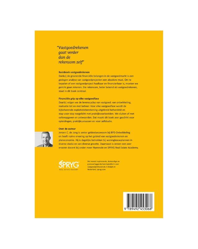 Jeroen C. de Jong,Basisboek Vastgoedrekenen