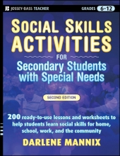 Darlene Mannix Social Skills Activities for Secondary Students with Special Needs