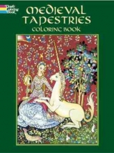 Marty Noble Medieval Tapestries Coloring Book