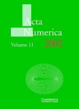 Arieh (University of Cambridge) Iserles Acta Numerica 2002: Volume 11