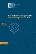 World Trade Organization Dispute Settlement Reports 2014