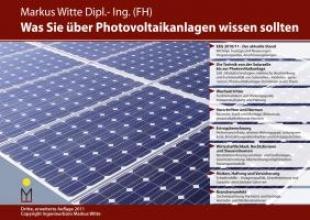 Witte, Markus Was Sie über Photovoltaikanlagen wissen sollten