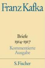 Kafka, Franz Briefe 1914-1917 Kommentierte Ausgabe