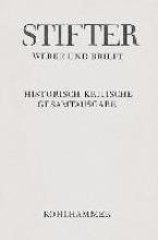 Stifter, Adalbert Werke und Briefe I/2. Studien, Journalfassungen II