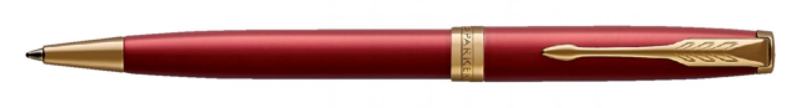, Balpen Parker Sonnet red lacquer GT